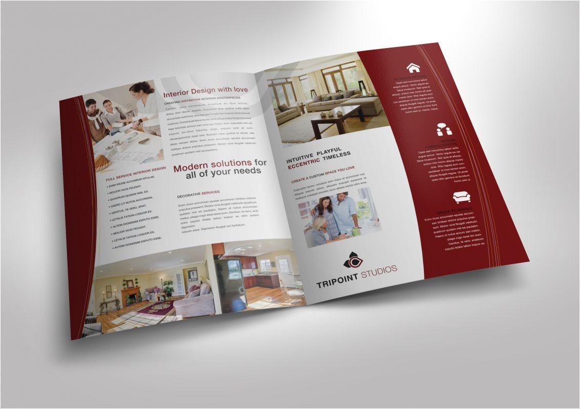 11x17 folded brochure