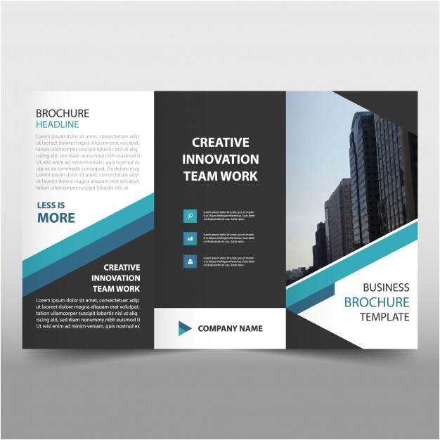 3 Fold Brochure Design Templates Brochure 3 Fold Template Trifold Brochure Vectors Photos