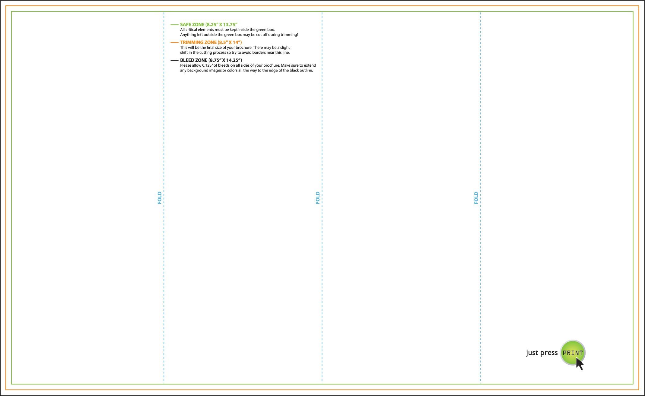 4 panel brochure template 4