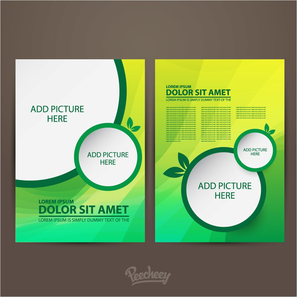 one sided brochure template 4
