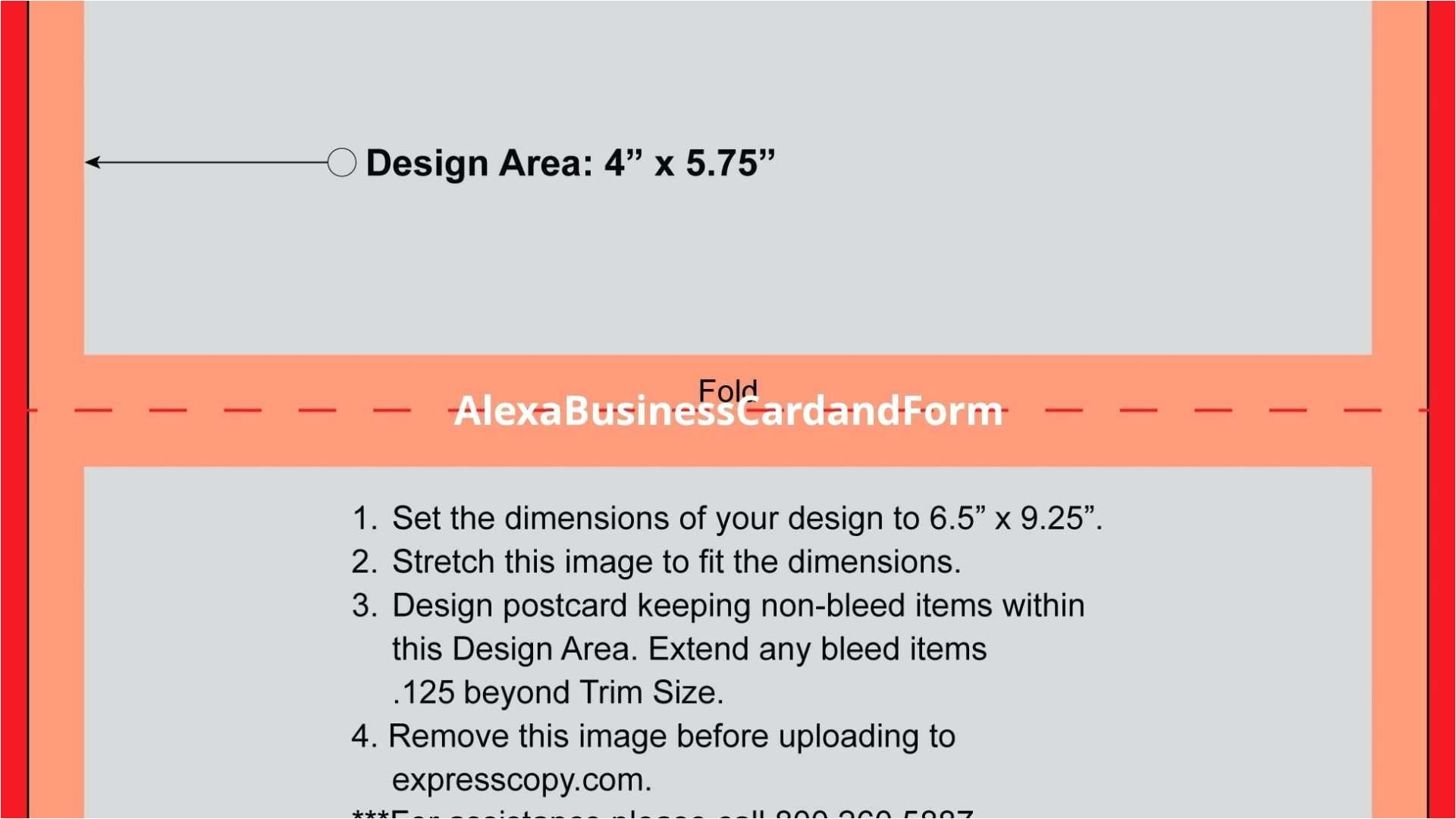 fold over business card template