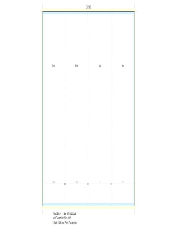 5 Panel Brochure Template 4 Panel Brochure Template 14 8 5 Free Download