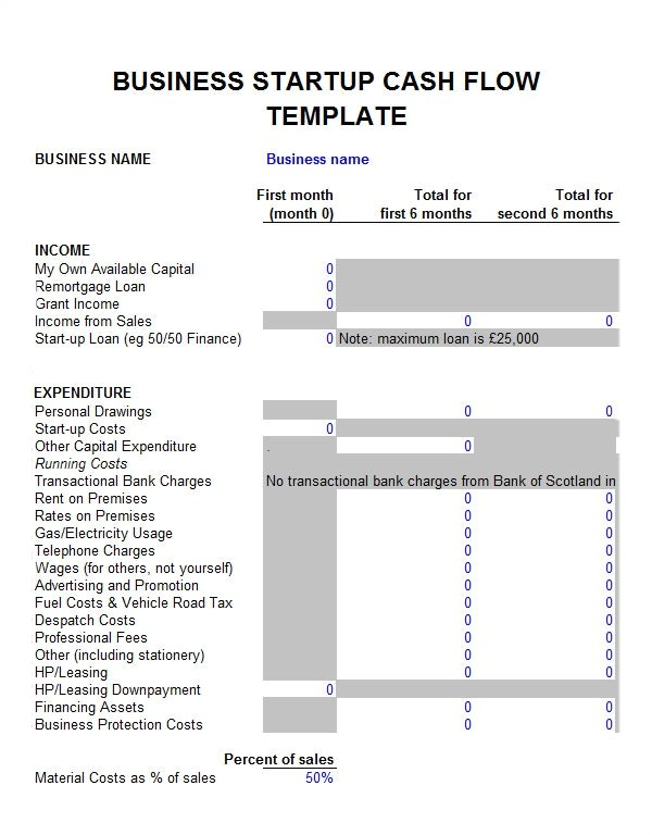 6 month business plan template