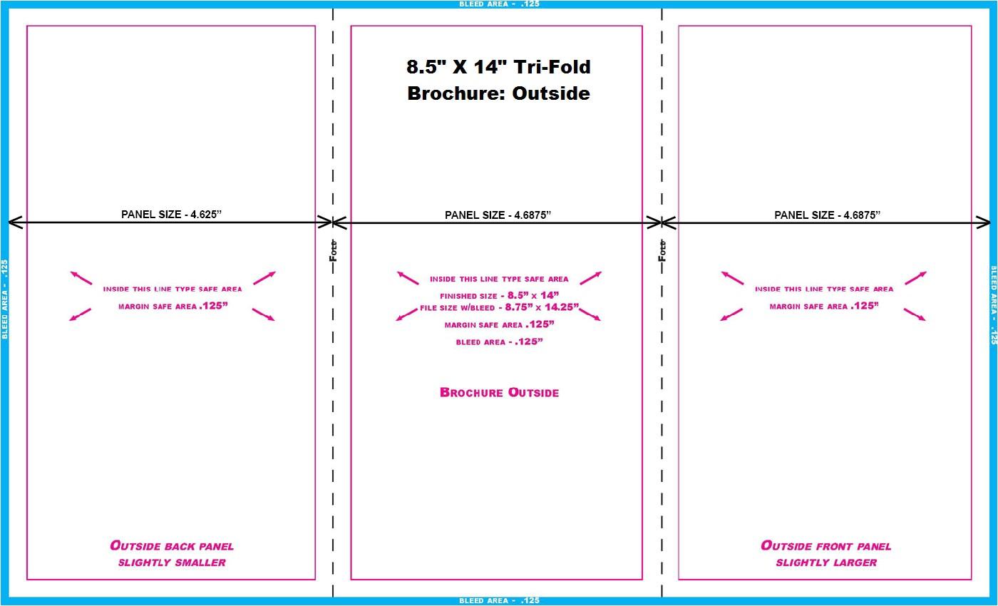 8 5 x 14 brochure