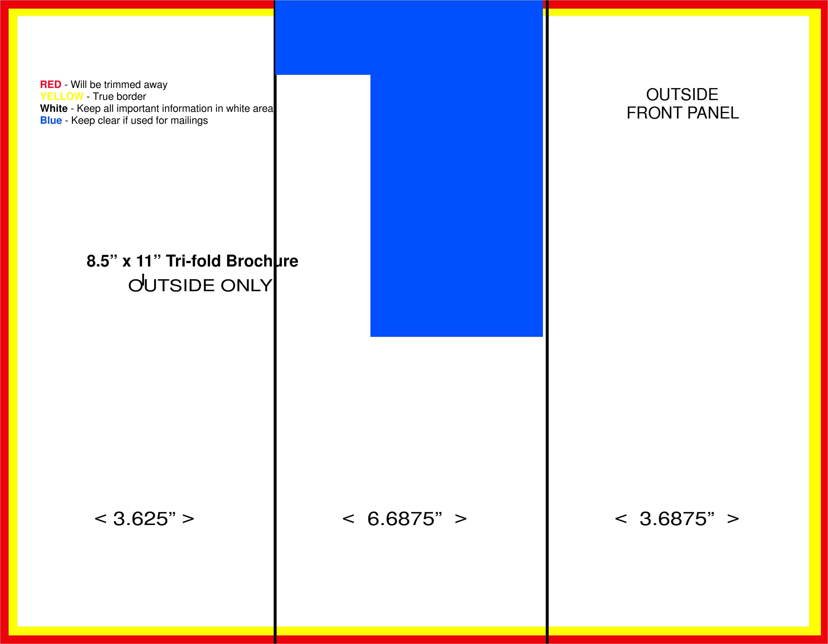 8.5 X 14 Brochure Template Tri Fold Brochure Template 8 5 X 11 Www Imgkid Com the