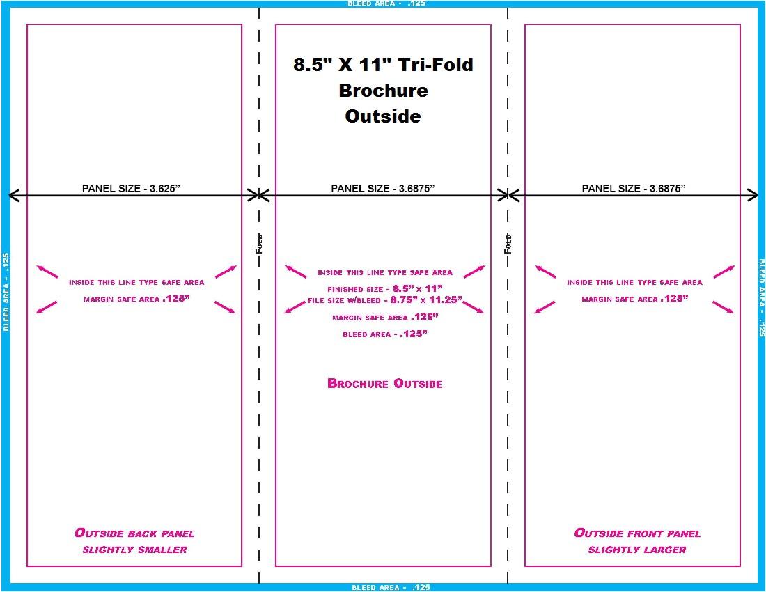 8 5 x 11 brochure template