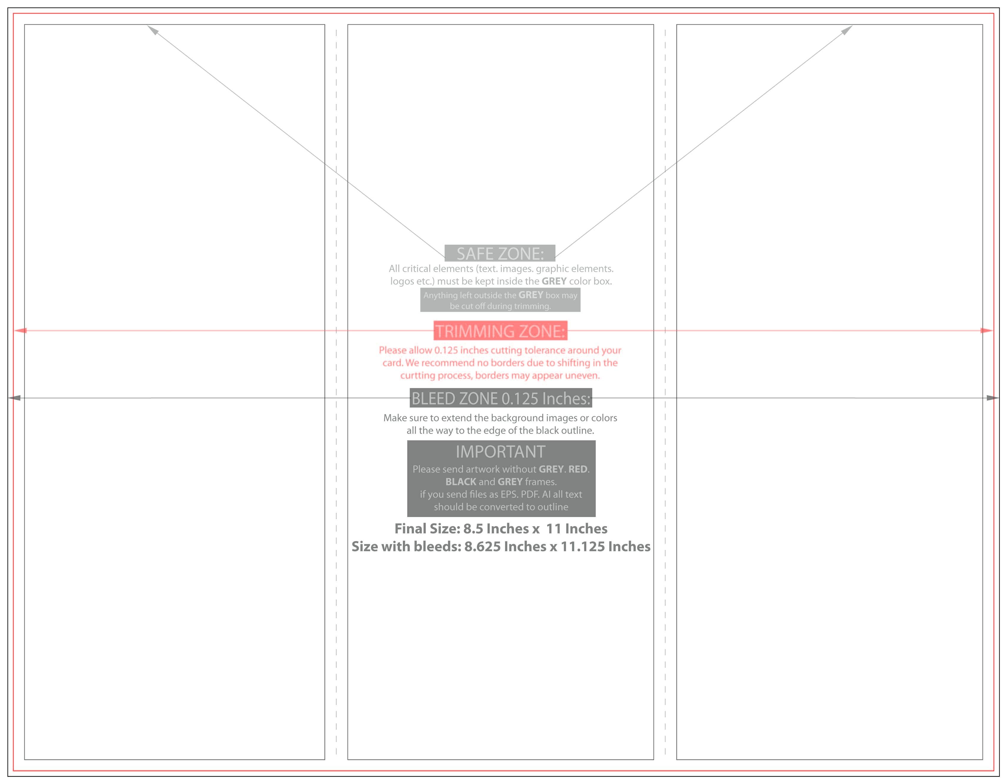 8 5 x 11 tri fold brochure template