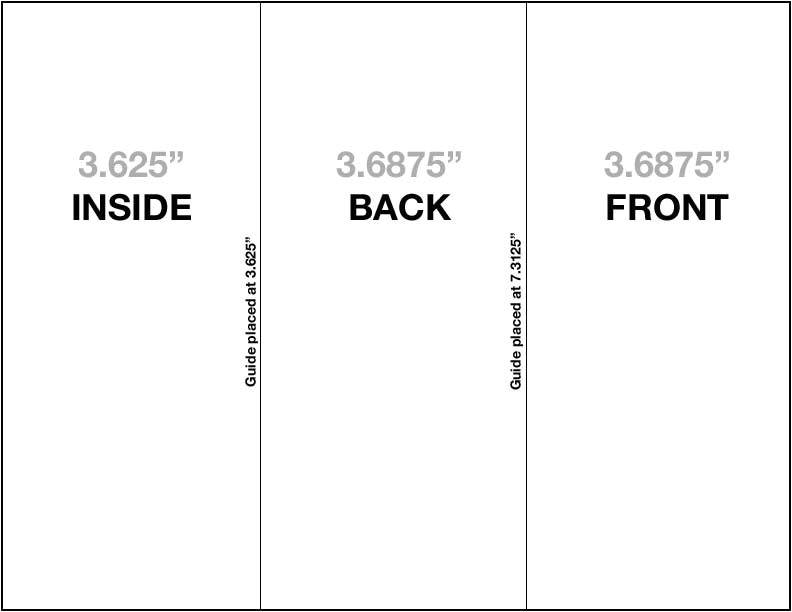 8 5 x11 brochure template