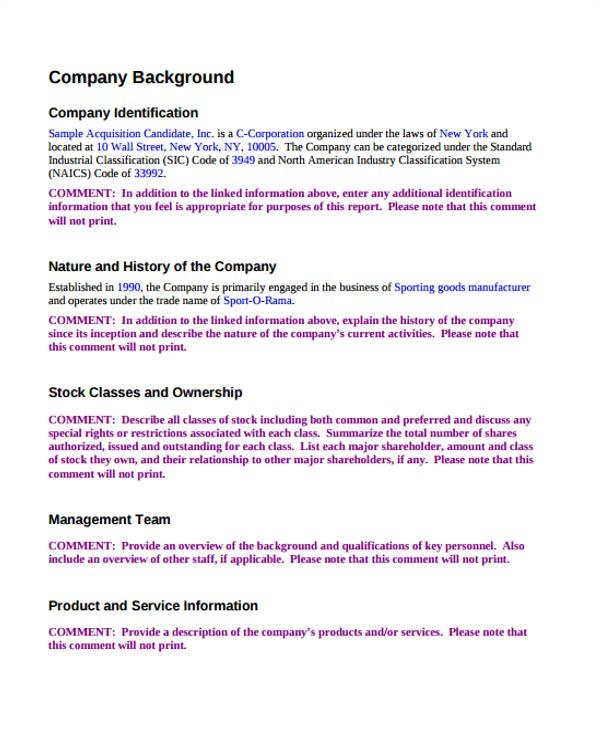 company proposal templates