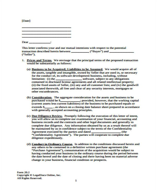 Acquisition Proposal Template 39 Business Proposal Letter Examples Sample Templates