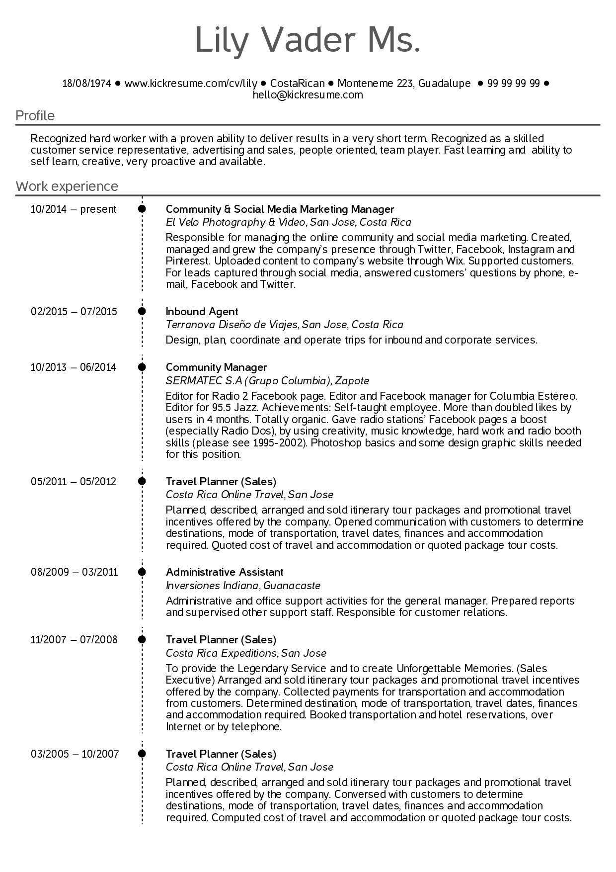 administrative assistant resume examples 2014