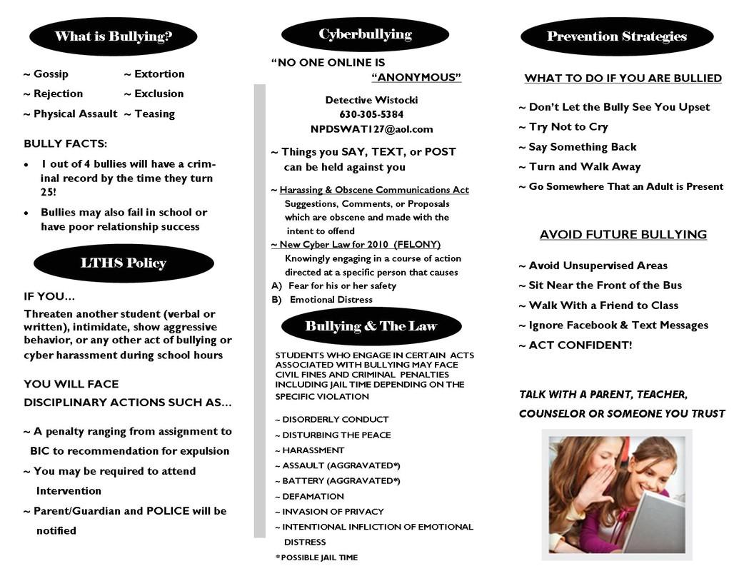 p bullying prevention pamphlet 1775388