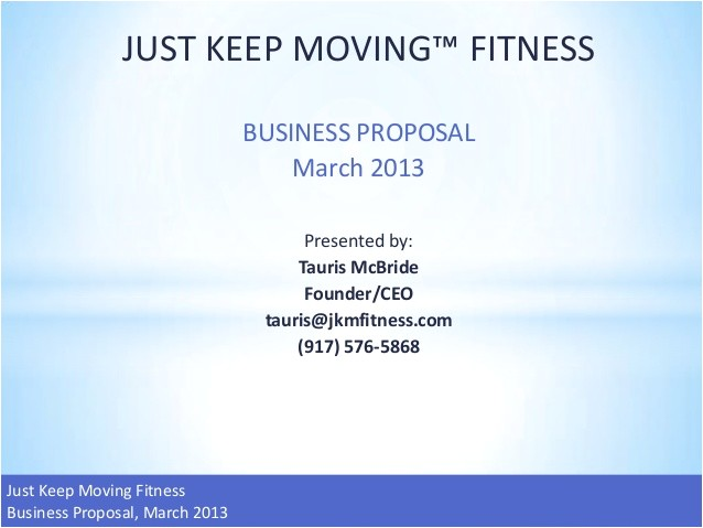 Anytime Fitness Business Plan Template Jkm Fitness Business Plan and Projections
