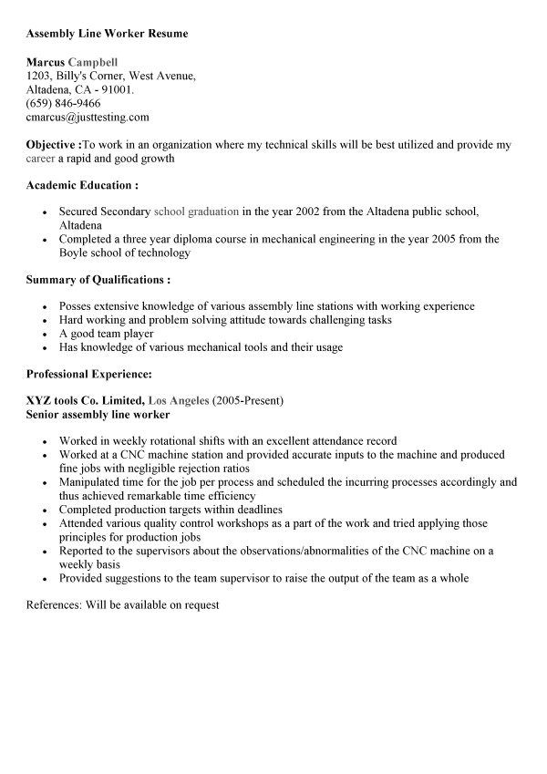 assembler resume sample perfect gallery example modern 6 office manager examples