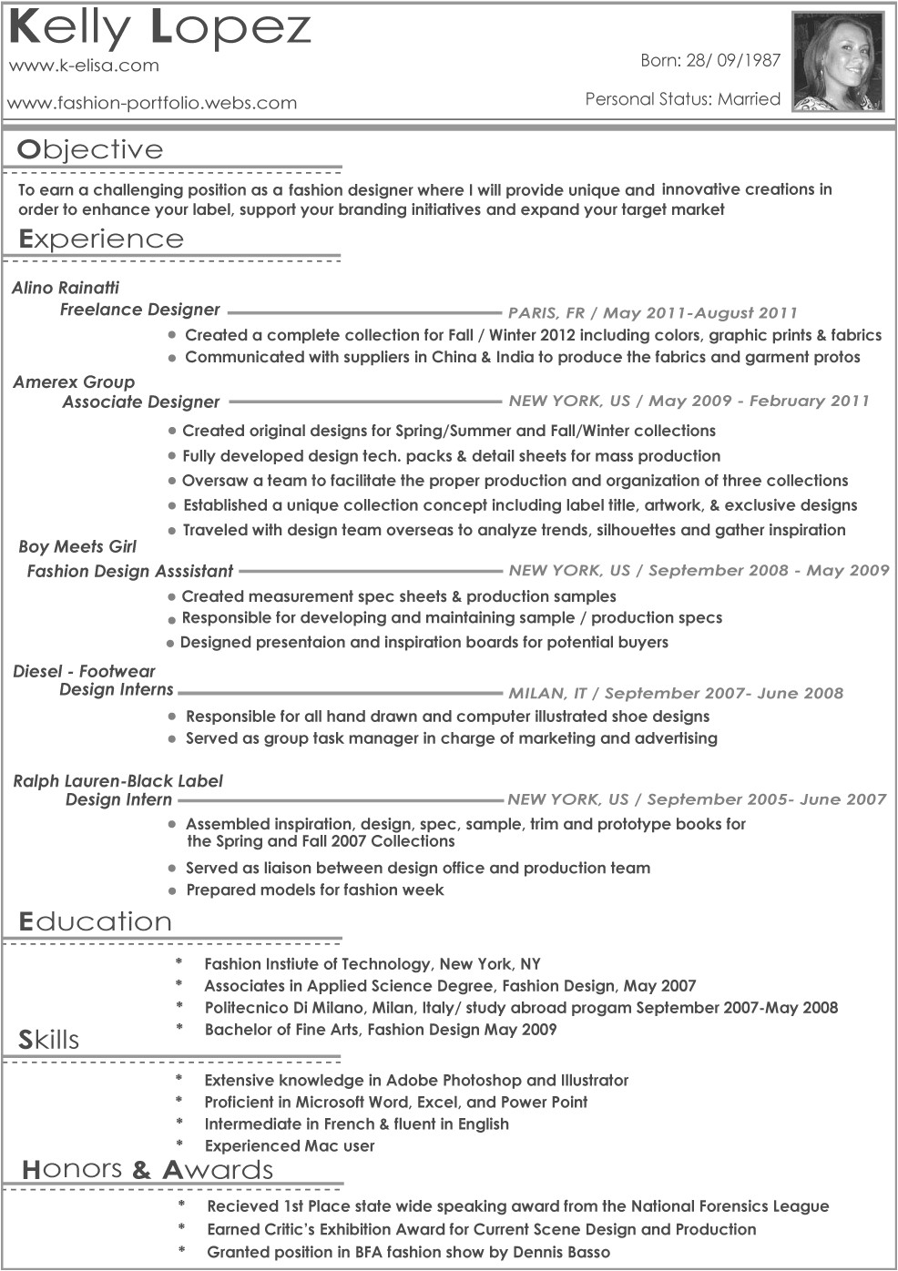 download free fashion stylist assistant resume sample