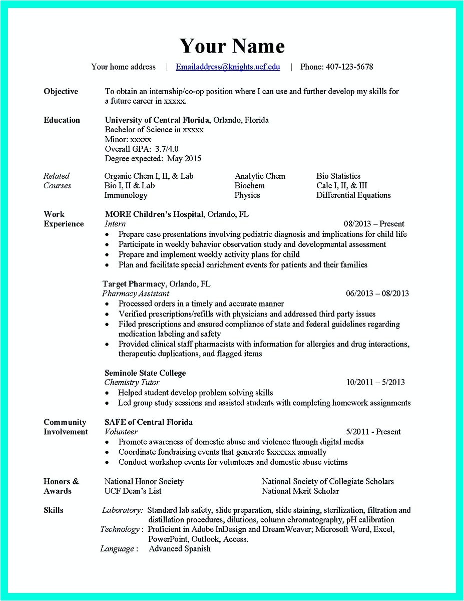 best computer science resume sample collection