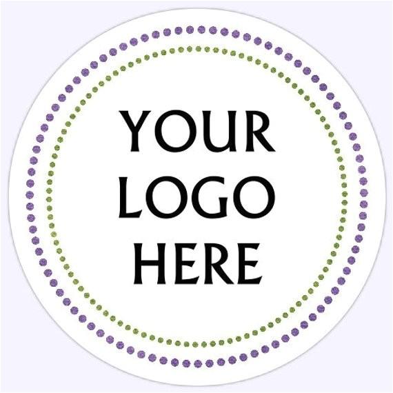 custom printable stickers tags round 15