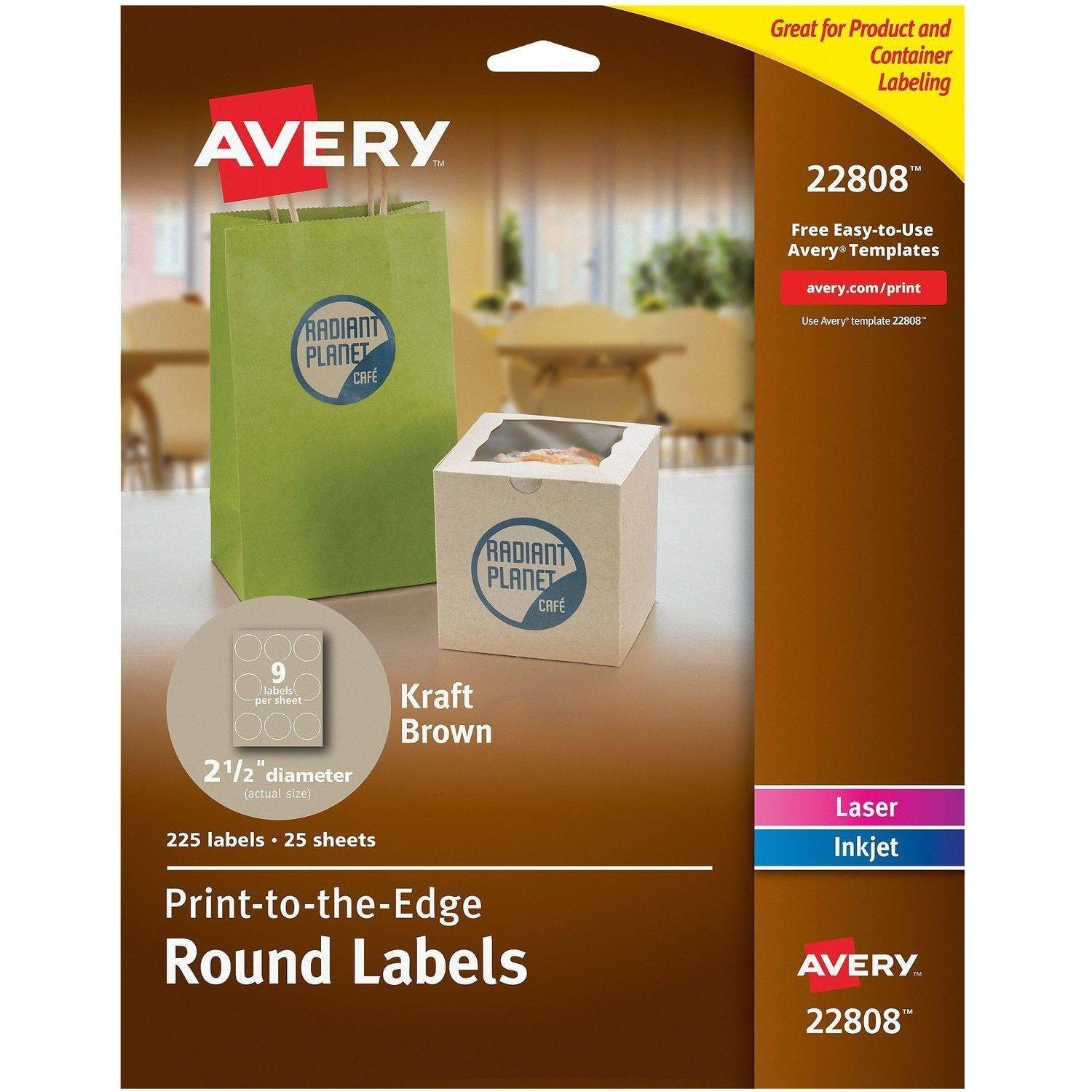 Avery 1 Inch Round Labels Template Avery 5167 Easy Peel White Return Address Labels for Laser