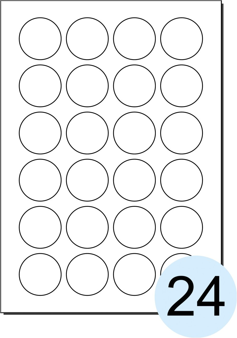 post polaroid round adhesive labels template 395713