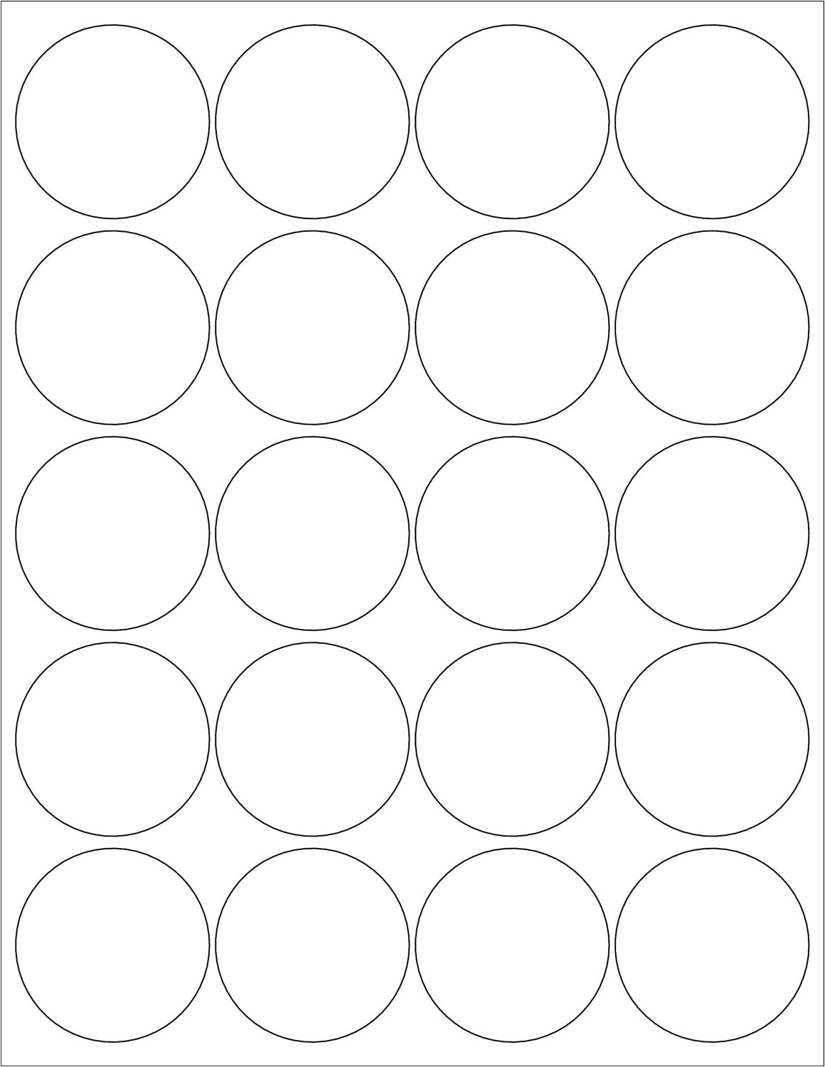 Avery 2 Round Label Template 16 Images Of Avery Circle Sticker Template Leseriail Com