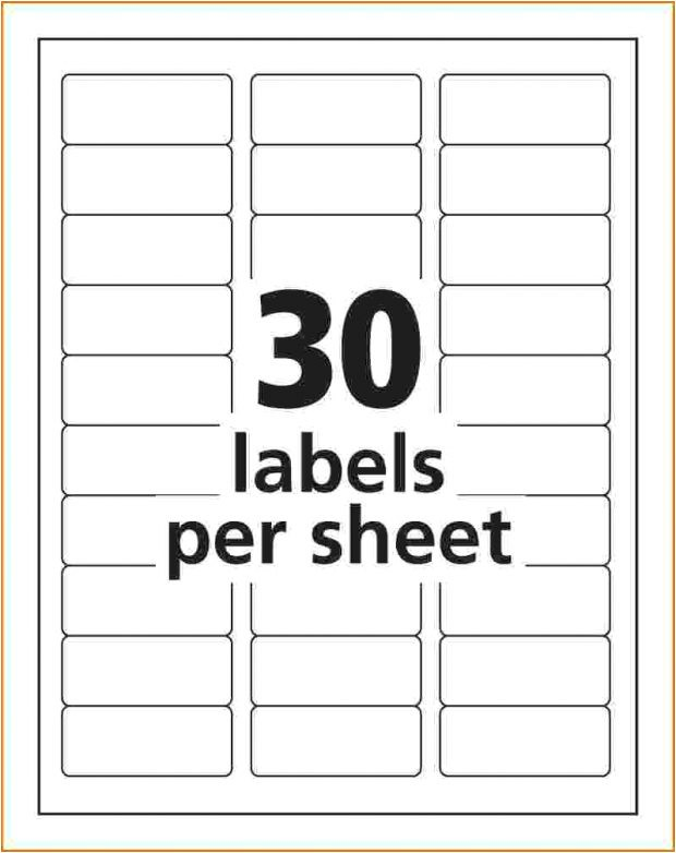 avery template complete folder labels 2 3 7 16 white 30 per sheet