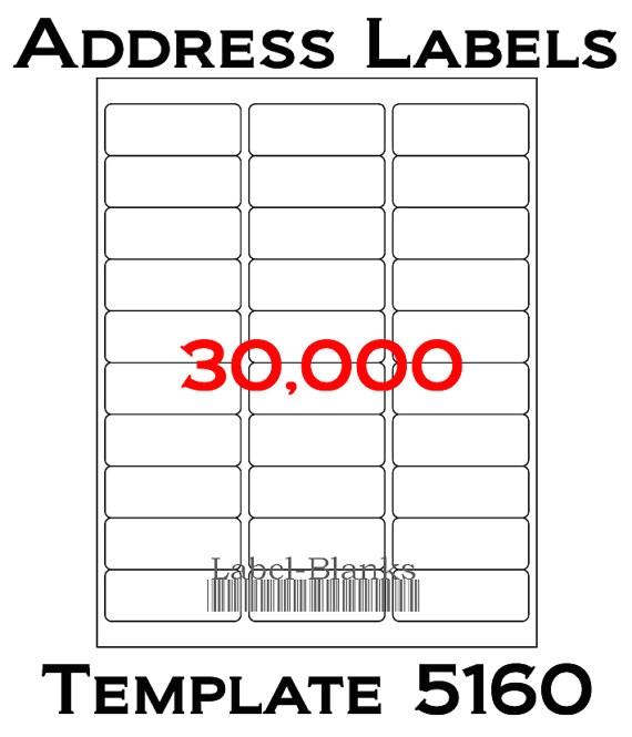 avery address template