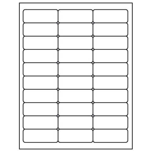Avery 30 Up Labels Template Label Supply Hut