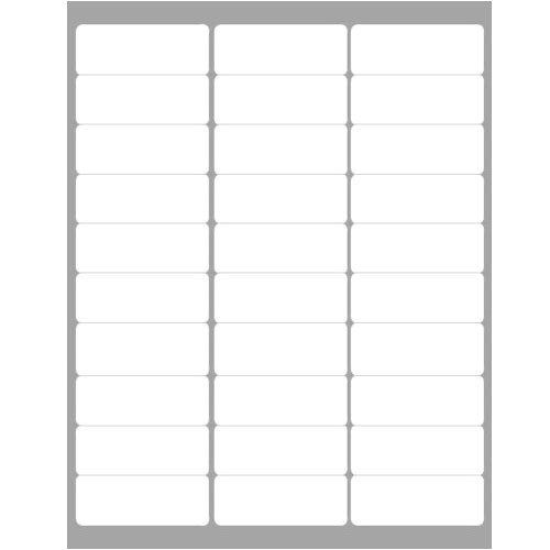 Avery 5160 Compatible Template Labels Compatible with the Avery 5160 Template Also for