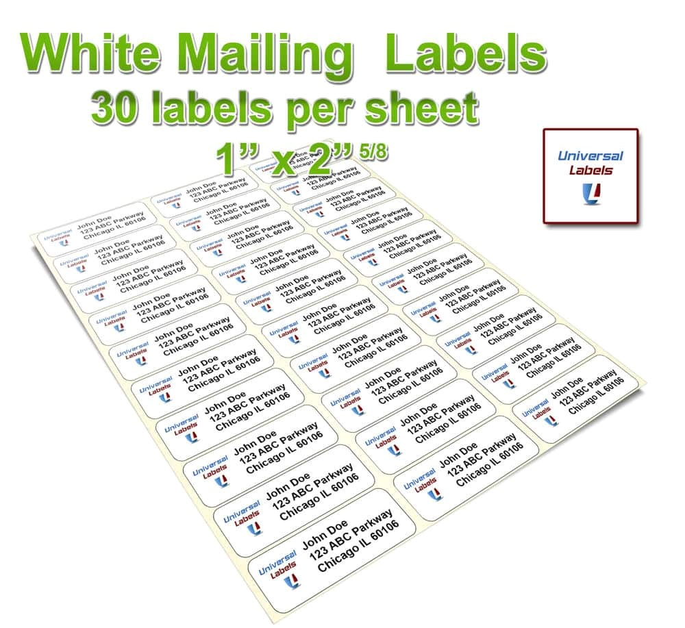 Avery 60 Labels Per Sheet Template Avery 8195 Template and Label Templates for Word 30 Per