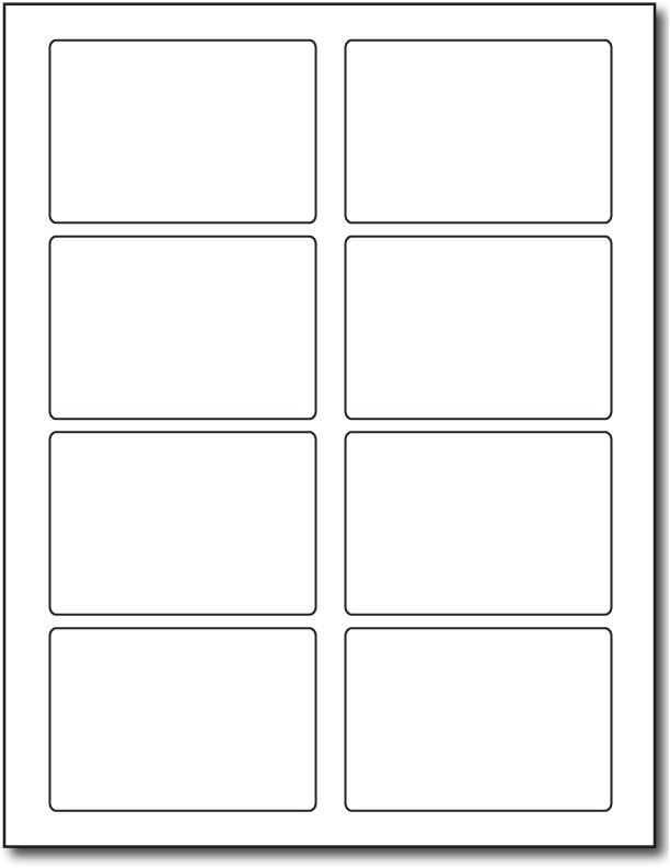 label template 8 per page 1274