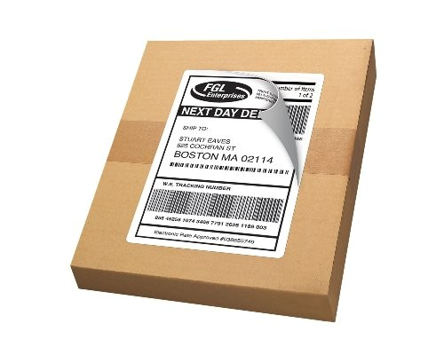 avery shipping labels with trueblock technology inkjet printers 5 5 x 8 5 inches white pack of 50 8126 32543