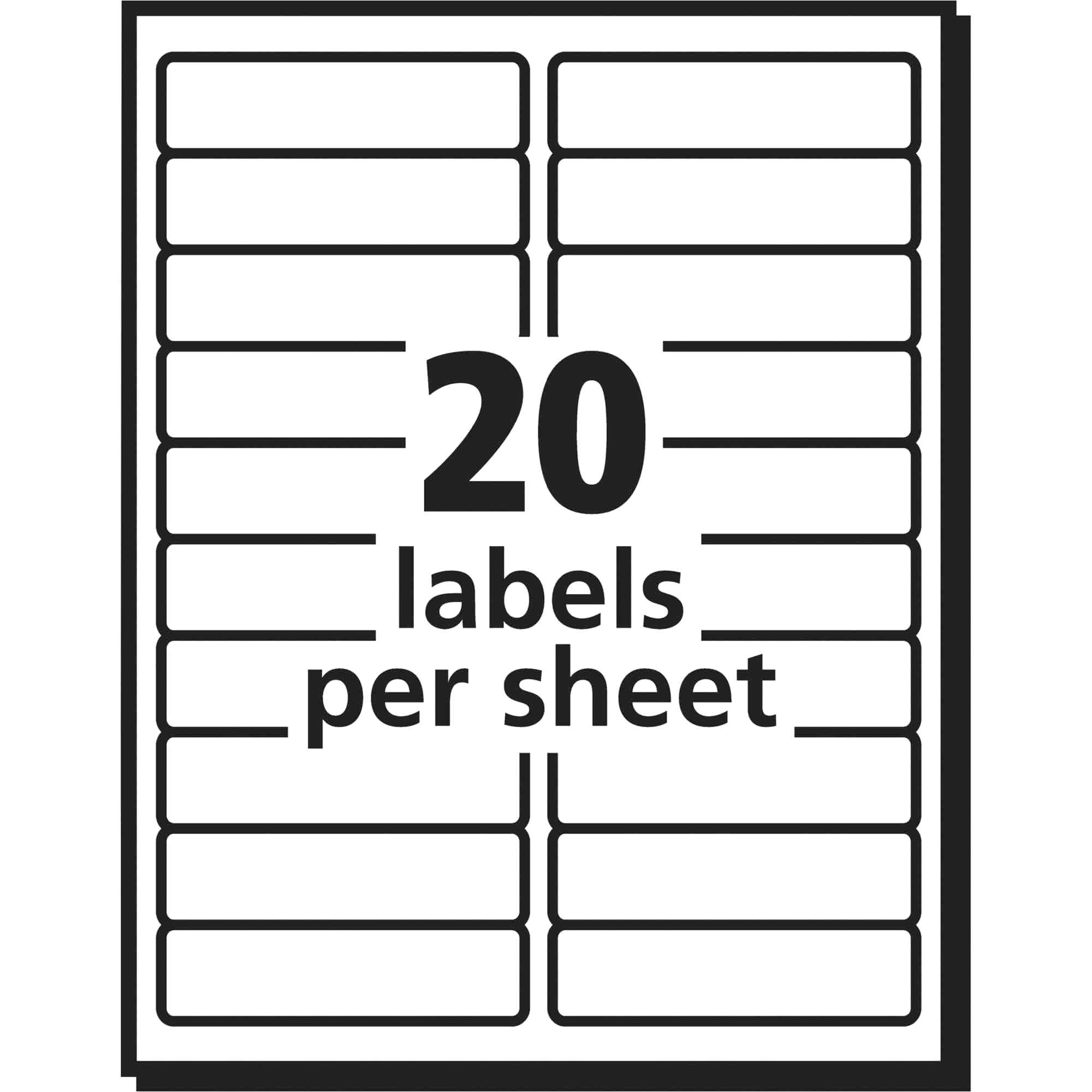 avery labels 8160 template