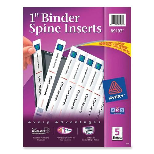 binder spine insert ave89103 2164909 prd1