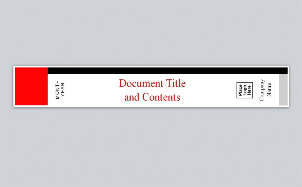 avery binder spine template