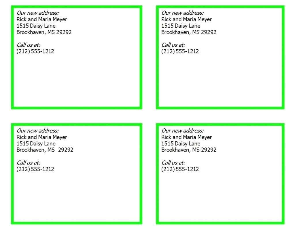 business card template avery 8373