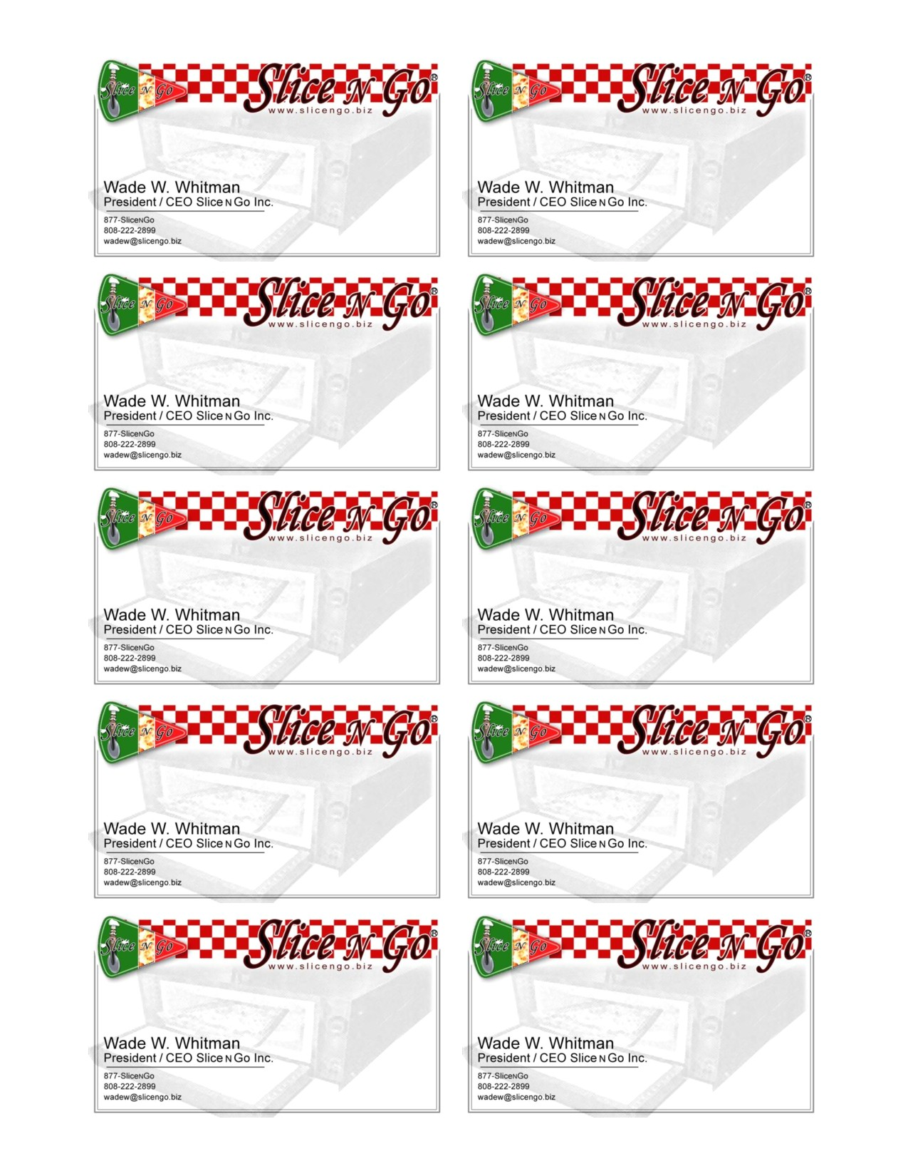 business card avery template 8371