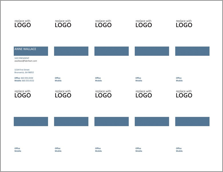 Avery Business Cards Template 5371 Free Printable Business Card Template Images Business