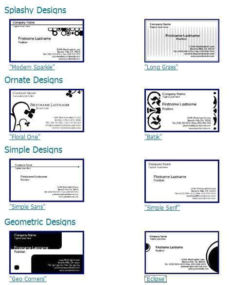 post printable business card template 8371 37874