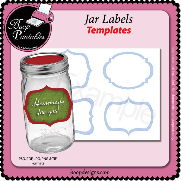 Avery Canning Jar Label Template 15 Jar Label Templates Free Psd Ai Vector Eps format