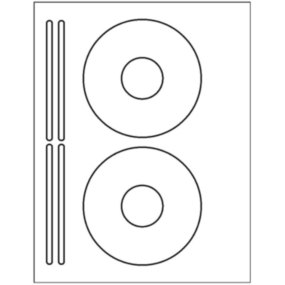 Avery Cd Label Template L7676 200 Cd or Dvd Labels 5931 Template Used to Create 2 Cd