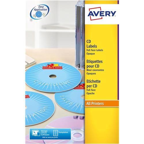 Avery Cd Label Template L7676 Buy Avery L7676 Laser Cd Labels 117mm Dia Ref L7676 25