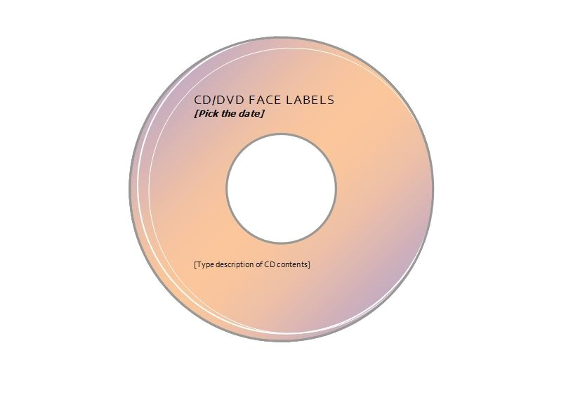 avery cd label template 5931