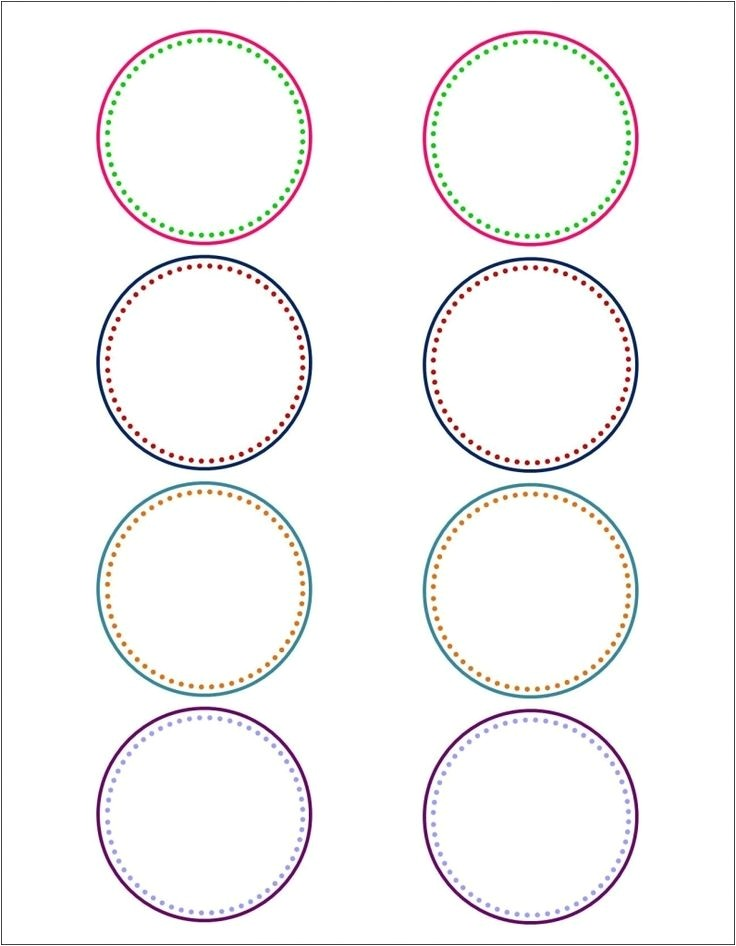 avery round label templates
