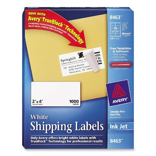 mailing label ave8463 2171701 prd1