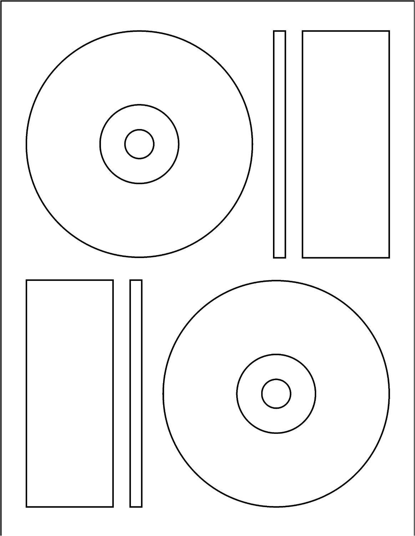 post cd label template 12950