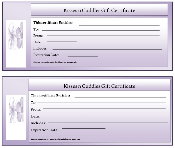 Avery Gift Certificate Template 11 Free Gift Certificate Templates Microsoft Word Templates