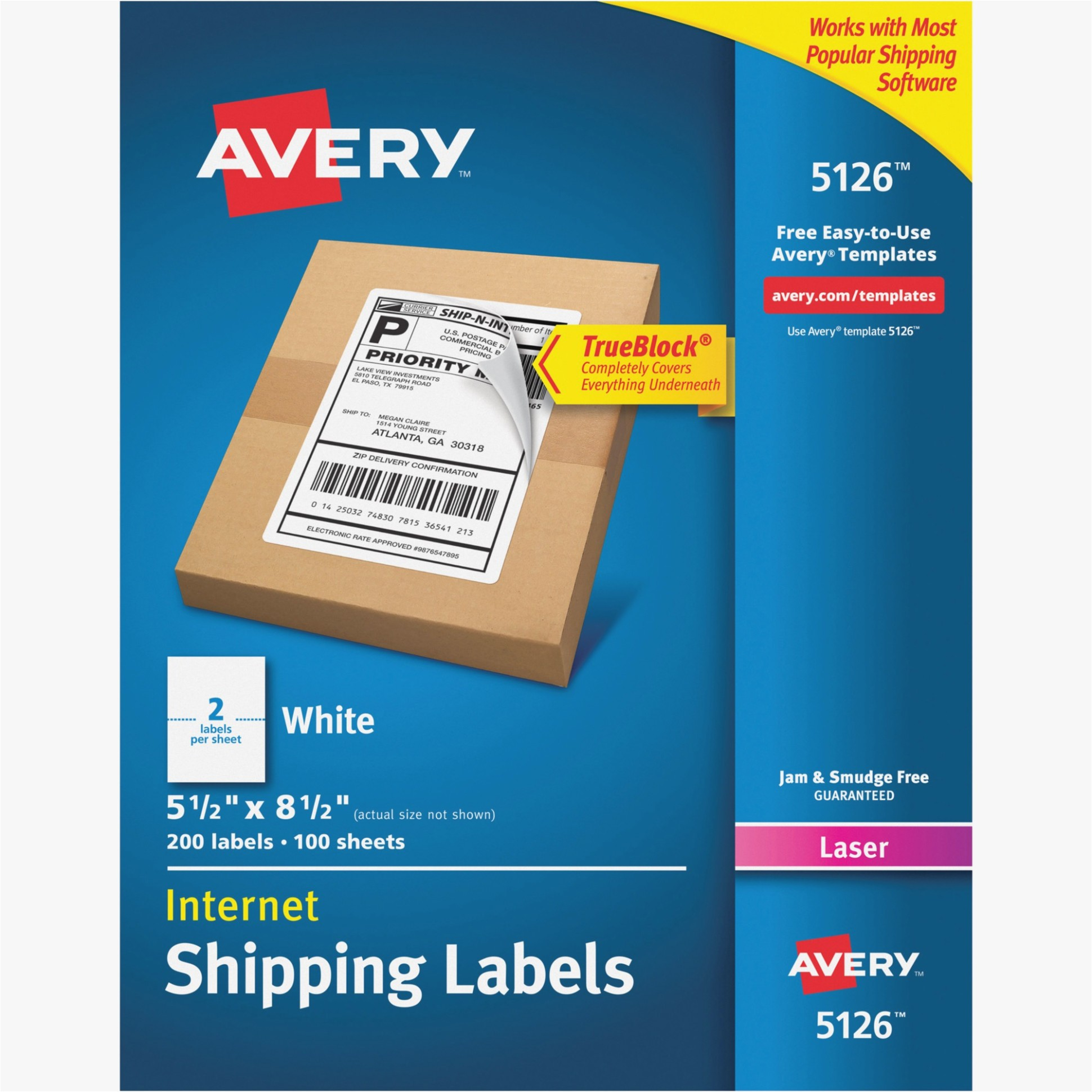 Avery Half Page Labels Template attending Avery Half Sheet Label Maker Ideas Information