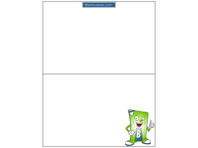 Avery Half Sheet Labels Template 500 Half Sheet Address Shipping Labels Compatible with