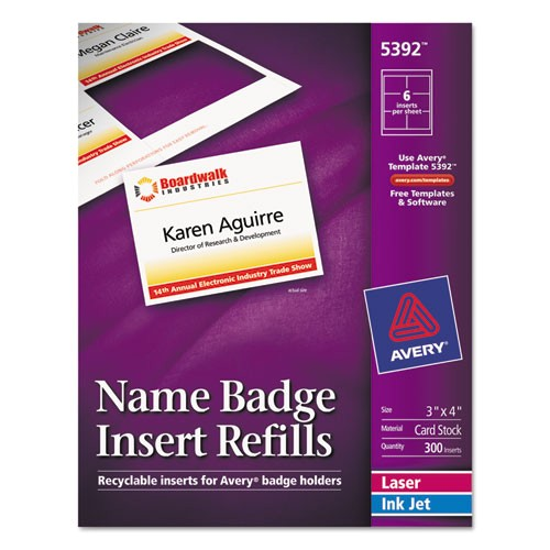 Avery Hanging Name Badges 74459 Template Bettymills Avery Name Badge Inserts Avery Ave5392