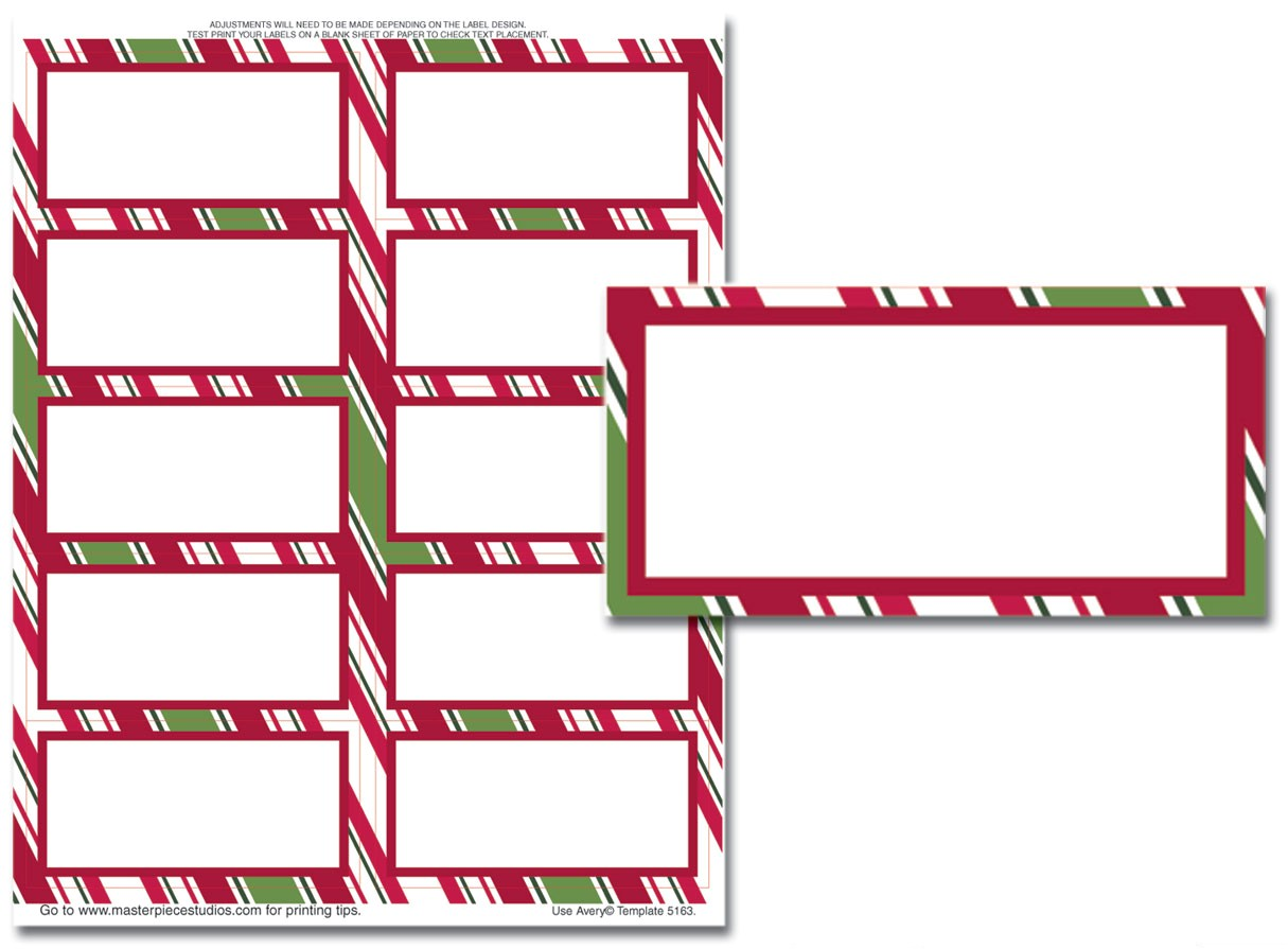 Avery Holiday Labels Templates Search Results for Avery 5160 Christmas Labels Template